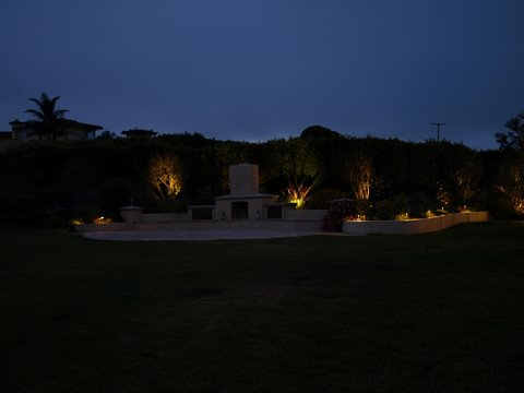 moorpark landscape lighting patio area