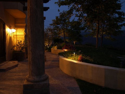 moorpark landscape lighting pathway